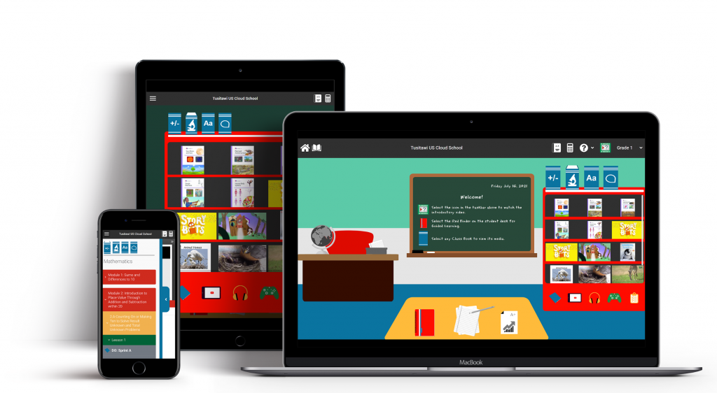 tusitawi on ipad, laptop, and ipone